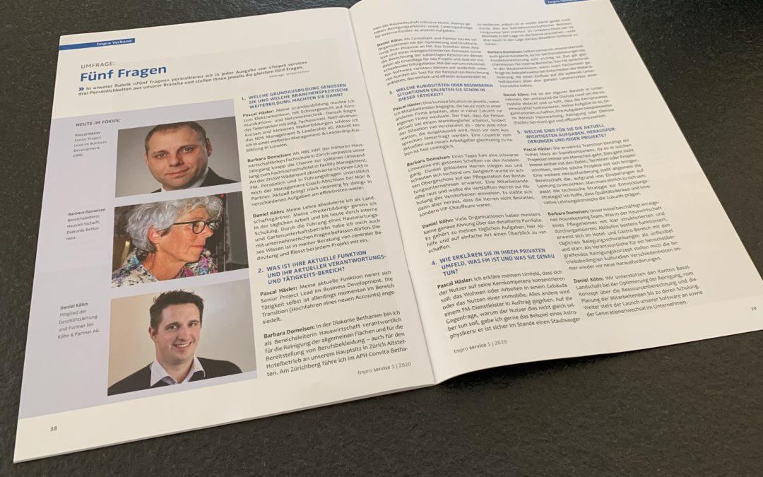 Daniel Köhn stellt sich den 5 Fragen von FMpro Service